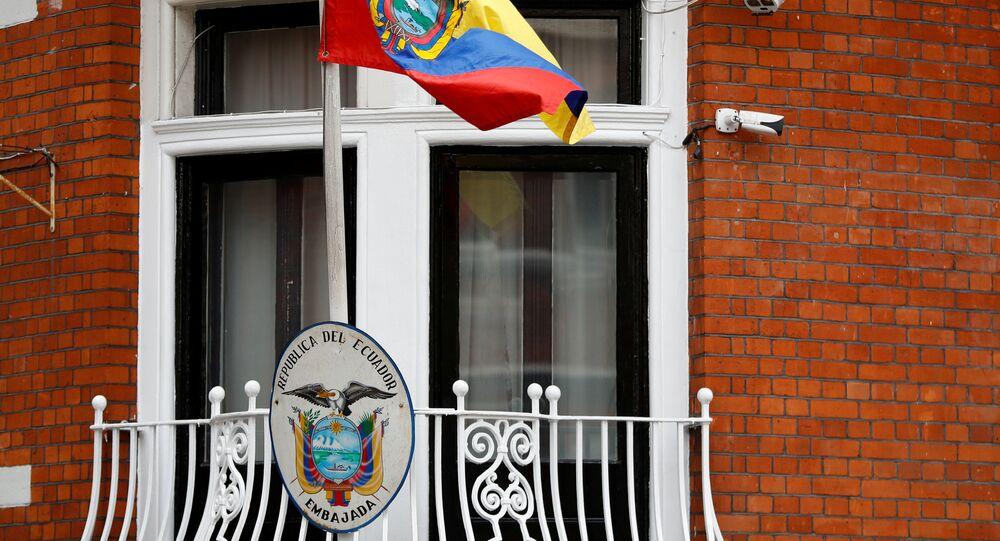 سفارة الإكوادور في لندن