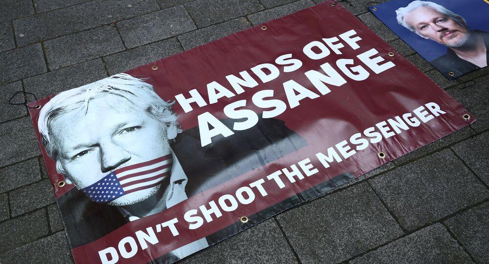اعتقال مؤسس ويكيليكس جوليان أسانج، 11 أبريل/ نيسان 2019
