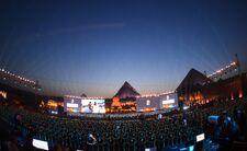 قرعة كأس الأمم الأفريقية في أهرامات الجيزة بالعاصمة المصرية القاهرة، 12 نيسان/أبريل 2019