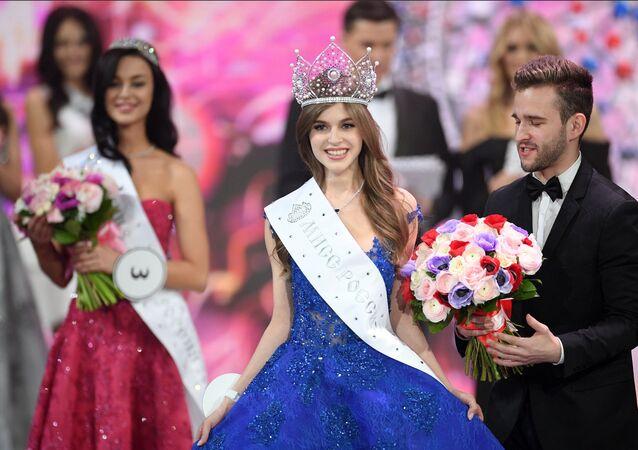 ملكة جمال روسيا 2019 ألينا سانكو