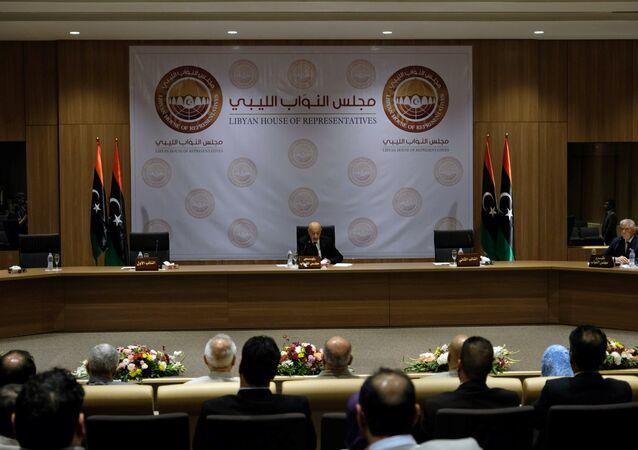 مجلس النواب الليبي في بنغازي