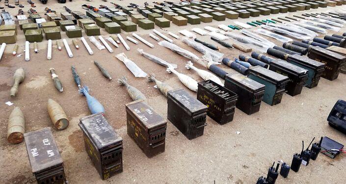 الأمن السوري يضبط مضادات دروع أمريكية غرب درعا