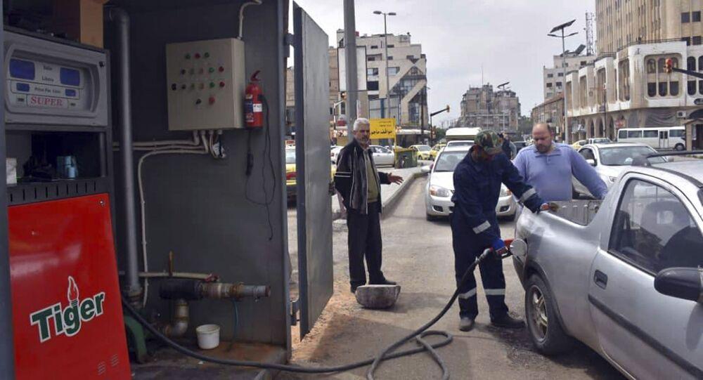 أزمة البنزين في حمص، سوريا، 7 أبريل/ نيسان 2019