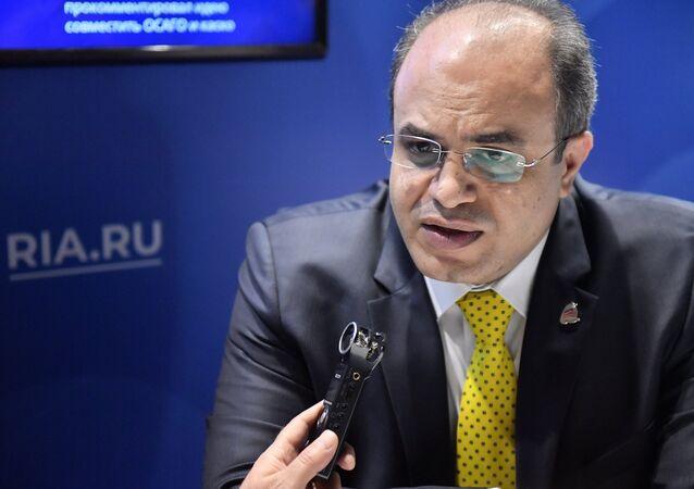 وزير الاقتصاد والتجارة الخارجية السوري الدكتور محمد سامر الخليل