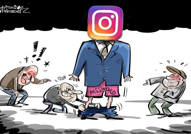الفيسبوك خزن كلمات سر لملايين مستخدمين إنستغرام بشكل غير مشفر