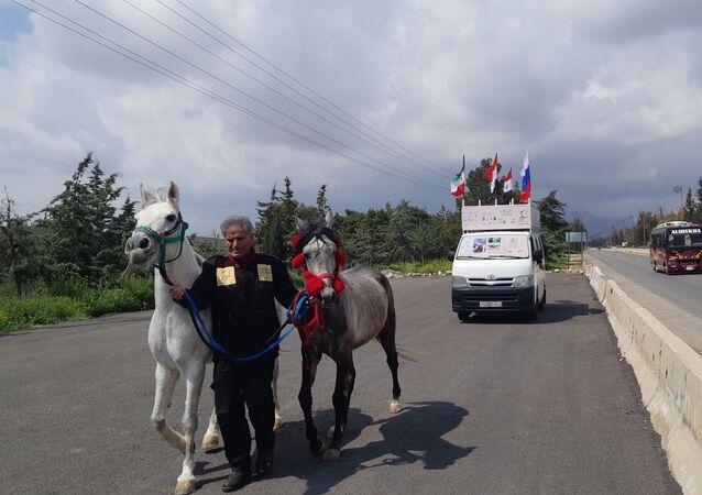 الرحالة السوري عدنان عزام