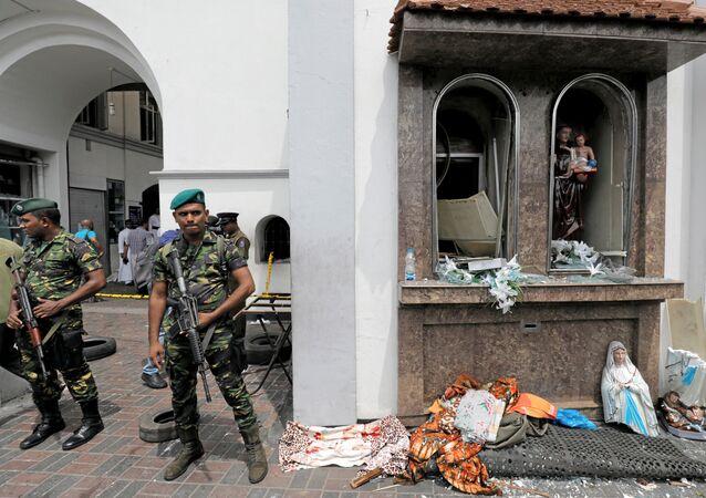 تفجيرات في سريلانكا