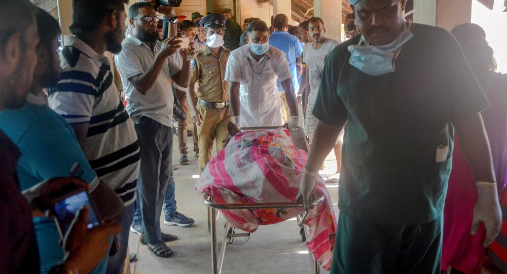 أحد ضحايا هجمات سريلانكا