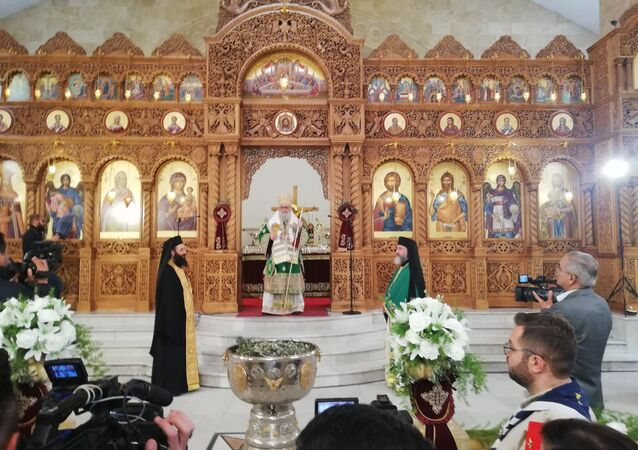 احتفالات المسيحين بحلب بعيدي الشعانين والفصح