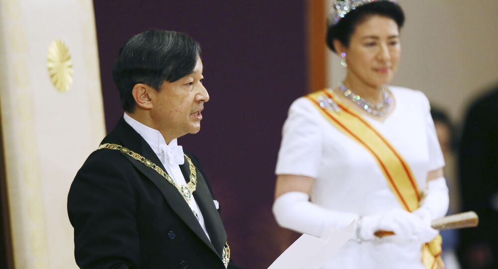 إمبراطور اليابان ناروهيتو