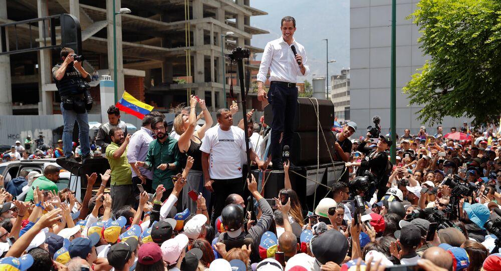 زعيم المعارضة الفنزويلية خوان غوايدو