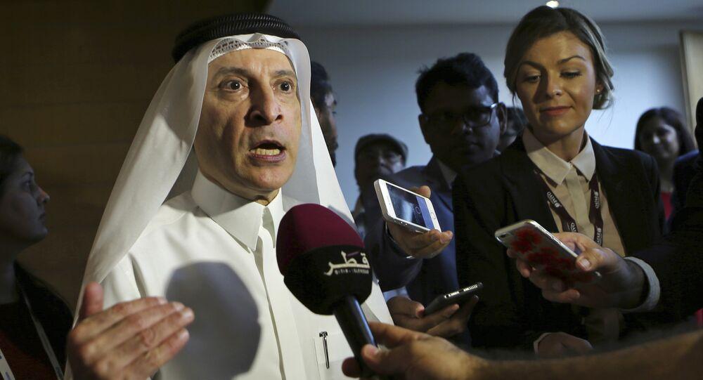 أكبر الباكر رئيس شركة الخطوط الجوية القطرية والأمين العام للمجلس الوطني القطري للسياحة