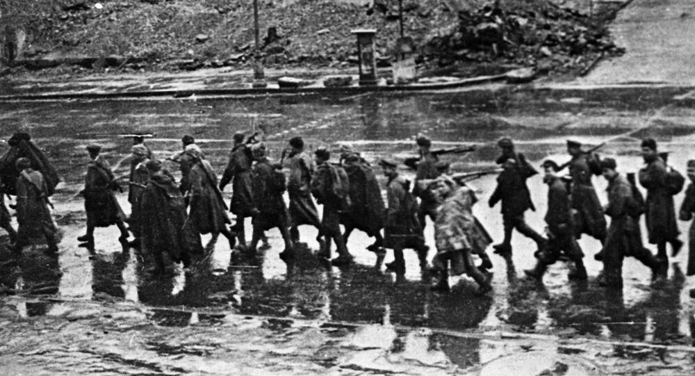 تحرير كييف عاصمة أوكرانيا من الغزاة النازيين، عام 1943