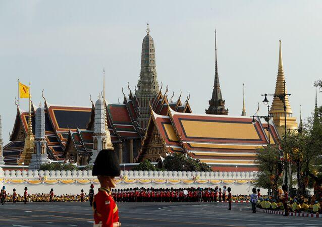 مسيرة ملك تايلاند