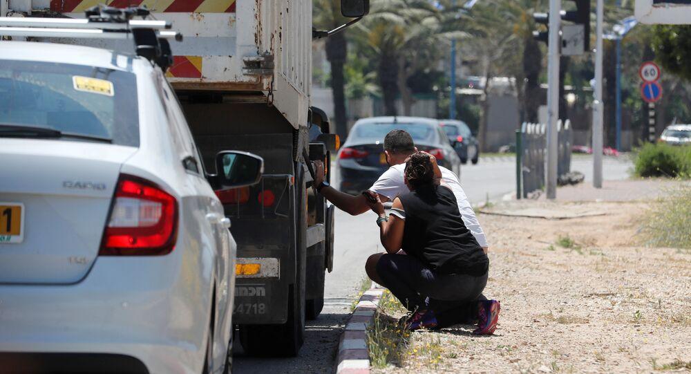 سقوط صواريخ للمقاومة الفلسطينية على بلدات إسرائيلية