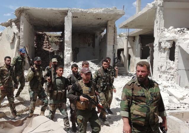 سبوتنيك تتجول في مدينة كفرنبودة السورية بعد هجوم عنيف