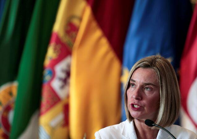 مفوضة الشؤون الخارجية بالاتحاد الأوروبي، فيديريكا موغيريني