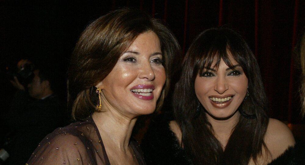 الممثلتان المصريتان سلوى خطاب وميرفت أمين