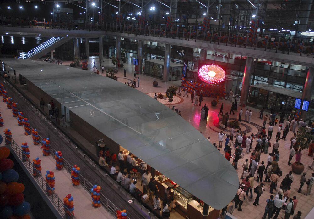 مطار راجيف غاندي الدولي في حيدر آباد، الهند