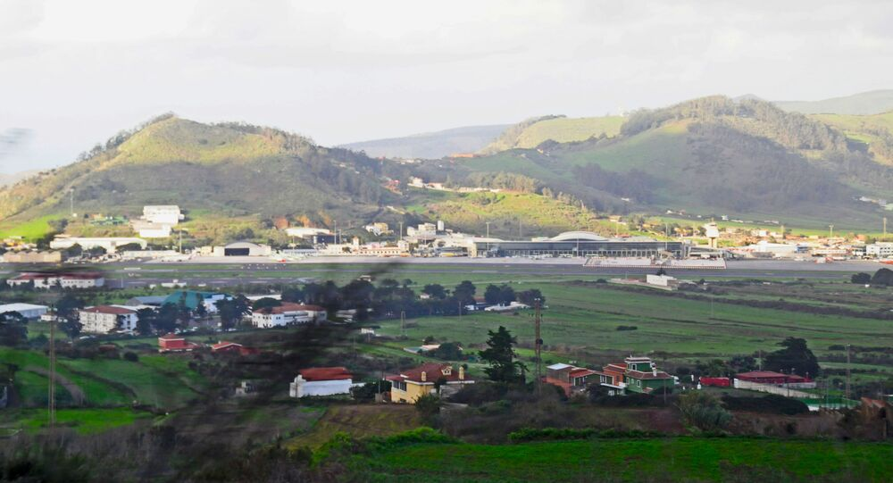 مطار تنريف الشمالي، جزر الكناري، إسبانيا