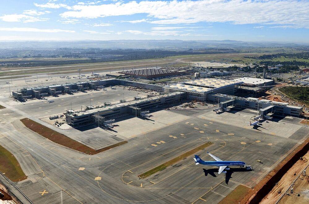 مطار فيراكوبوس الدولي في كامبيناس، ولاية ساو باولو، البرازيل