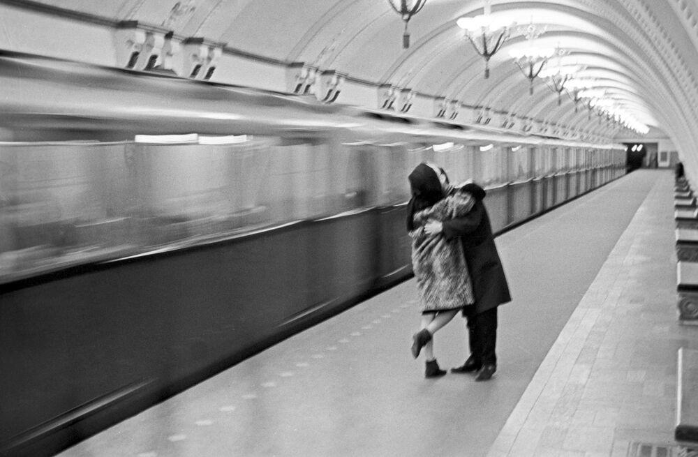 القطار الأخير، موسكو  1956