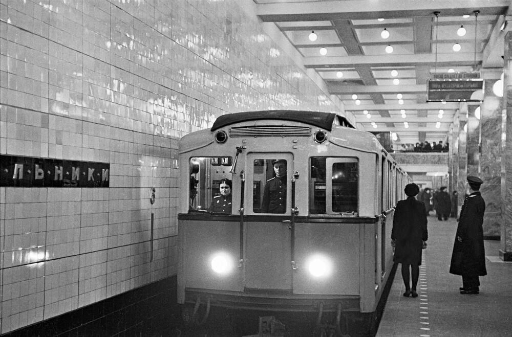 محطة مترو سوكولنيكي، موسكو  1948