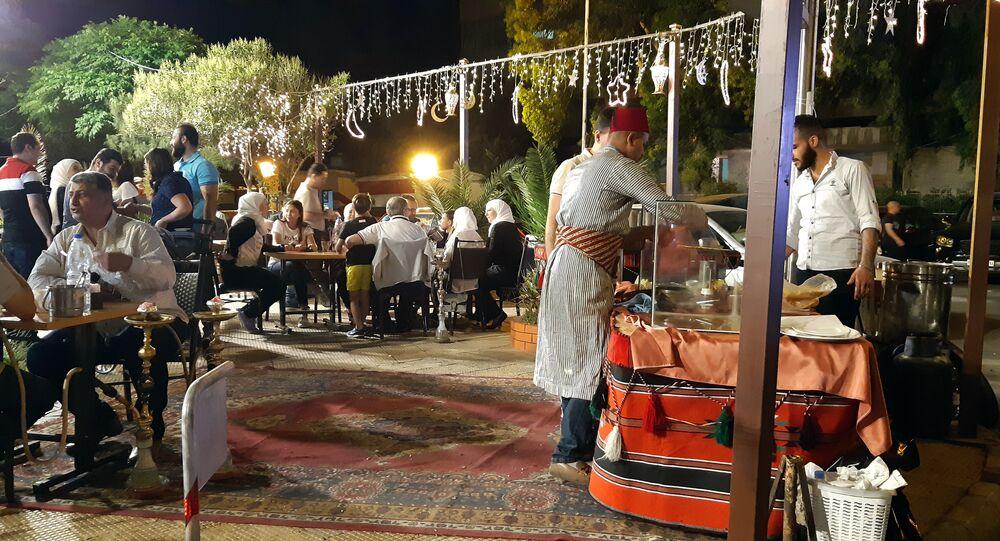أجواء رمضان في دمشق