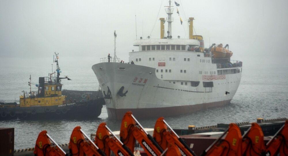 سفينة كوريا الشمالية مان جيونغ بونغ