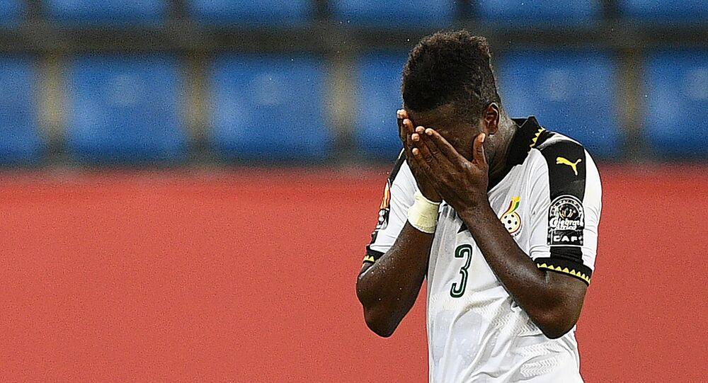 أسامواه جيان مهاجم منتخب غانا