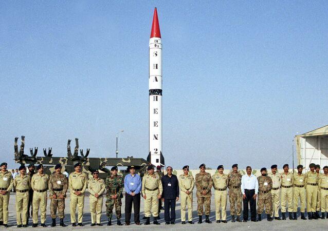 الصاروخ البالستي الباكستاني شاهين-2