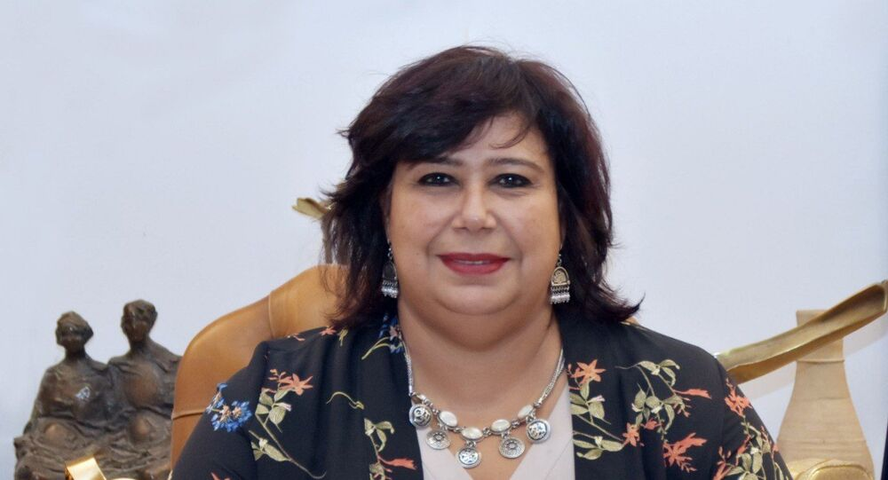 إيناس عبد الدايم، وزير الثقافة المصرية