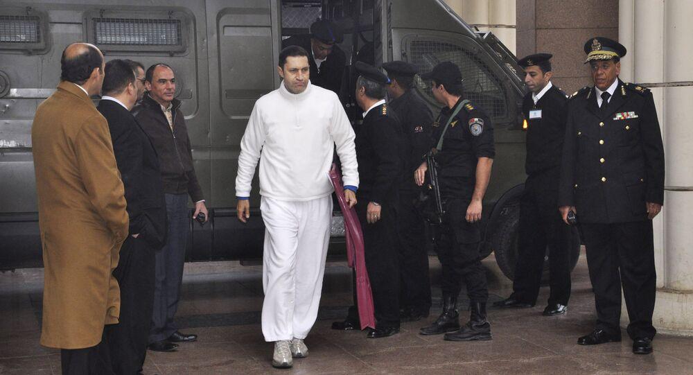 علاء مبارك نجل الرئيس المصري الأسبق محمد حسني مبارك