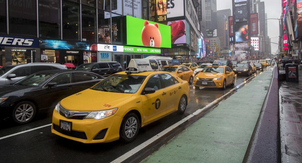تايمز سكوير (Times Square: ميدان التايمز) في نيويورك، 2017