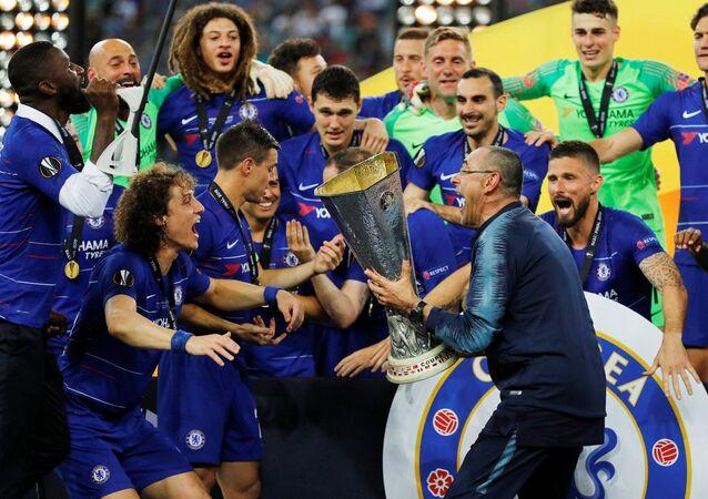فوز تشيلسي بنهائي الدوري الأوروي على حساب أرسنال