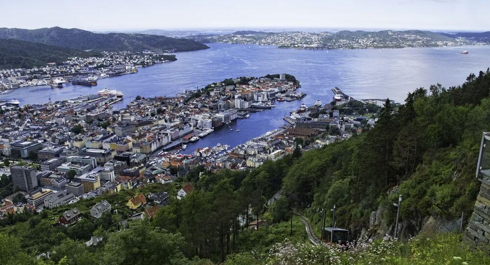 منظر لمدينة بيرغن، النرويج