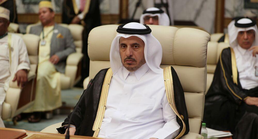 رئيس وزراء قطر عبد الله بن ناصر بن خليفة آل ثاني