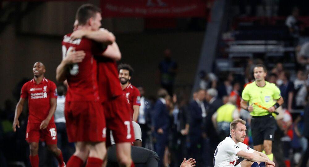 فوز فريق ليفربول على فريق توتنهام هوتسبر في نهائي دوري أبطال أوروبا، 1 يونيو/حزيران 2019