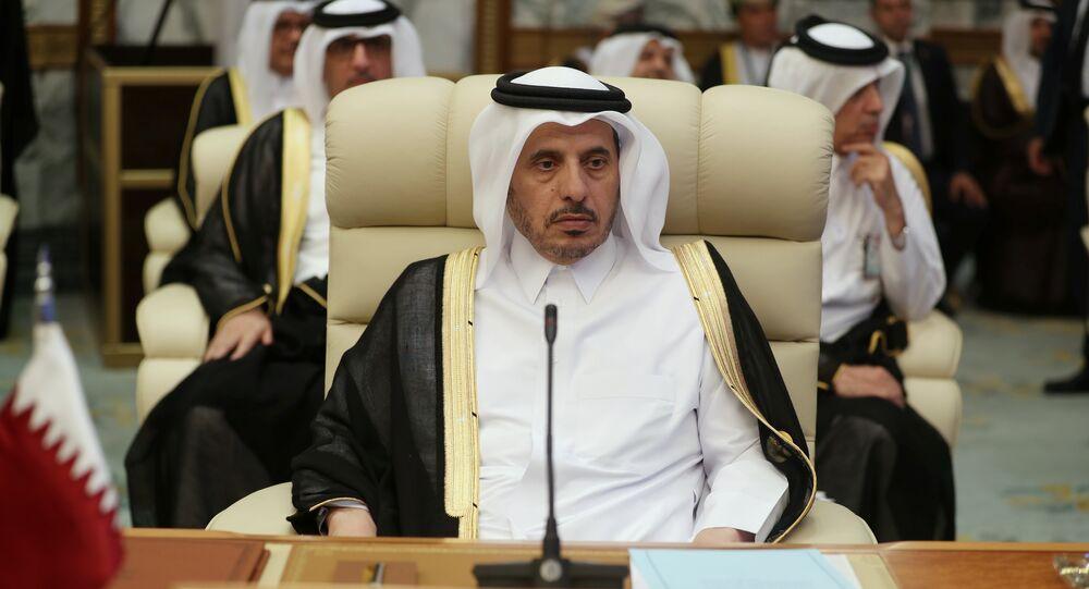 رئيس الوزراء القطري عبدالله بن ناصر آل ثاني