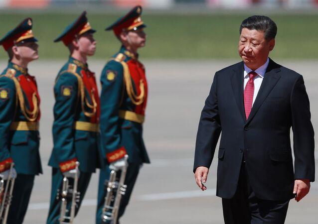 الرئيس الصيني شي جين بينغ في موسكو