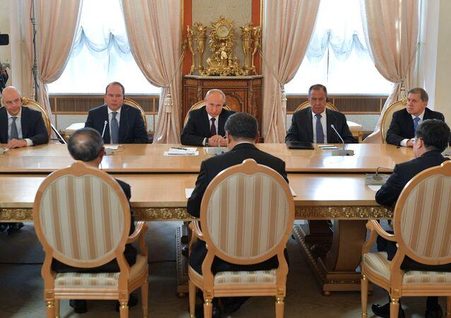 الرئيس الصيني في موسكو
