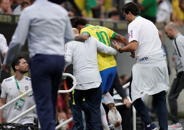 المهاجم البرازيلي نيمار دا سيلفا