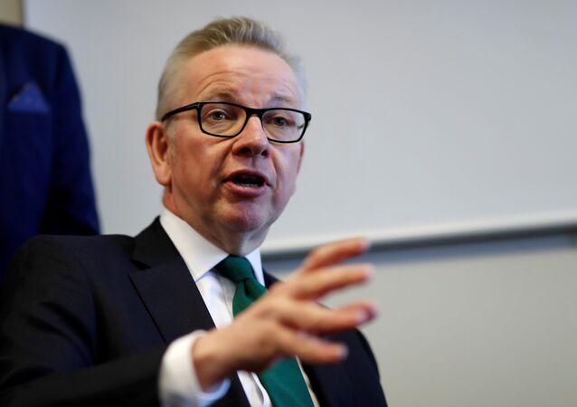 مايكل جوف المرشح لرئاسة وزراء بريطانيا يعترف بتعاطي الكوكايين