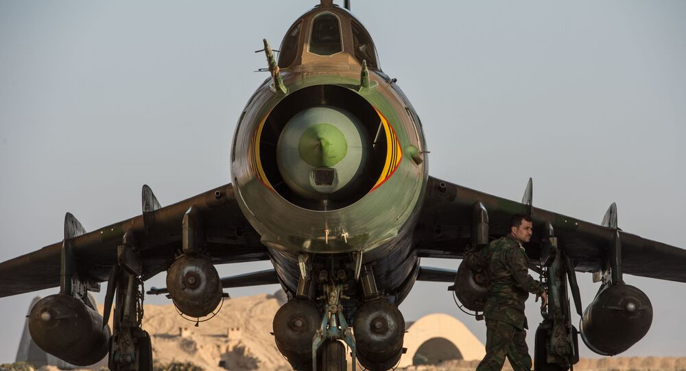 طائرة سورية من طراز سو-22
