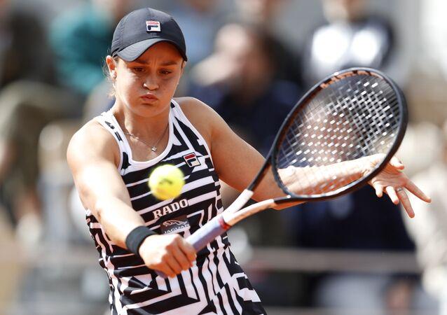 أشلي بارتي في بطولة فرنسا المفتوحة للتنس