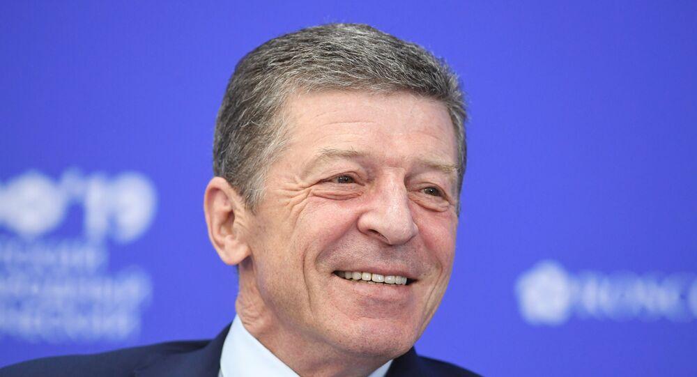 نائب رئيس الوزراء الروسي ديمتري كوزاك