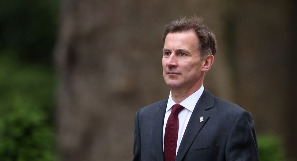 وزير الخارجية البريطاني جيريمي هانت