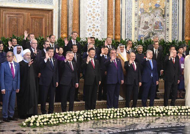 القمة الخامسة لمجموعة التفاعل وبناء الثقة في آسيا، المنعقدة في دوشنبه