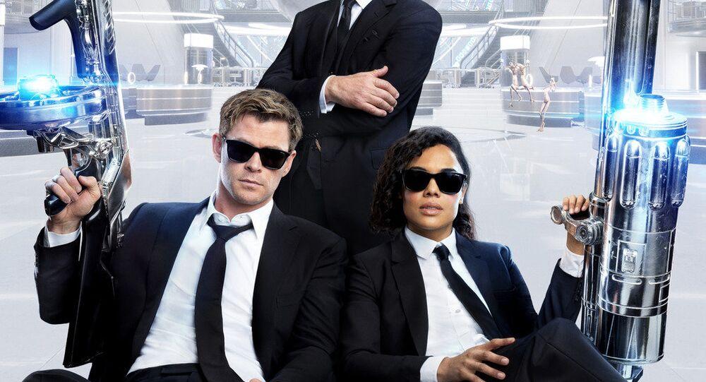 ملصق الفيلم الأمريكي Men in Black: International