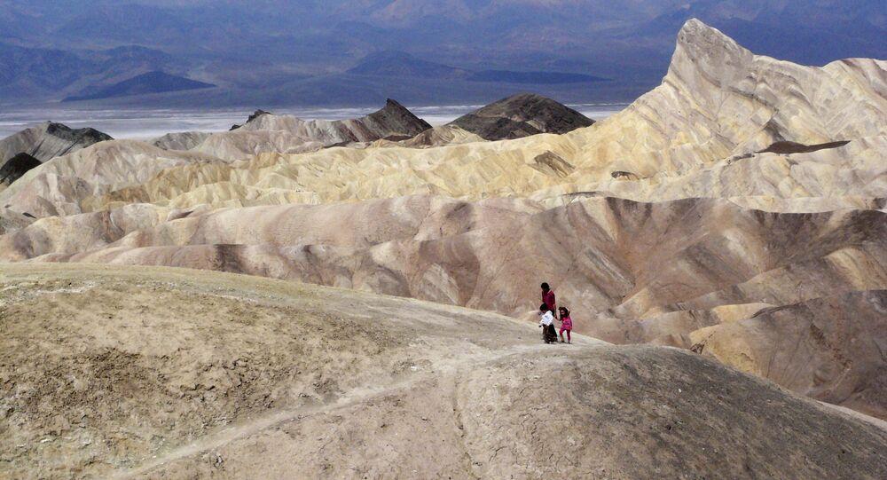 وادي الموت، كاليفورنيا، الولايات المتحدة